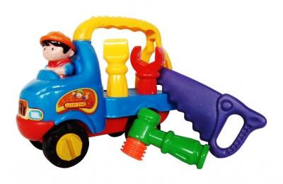 Auto do skręcania z narzędziami