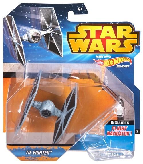 Hot Wheels Star Wars Statek kosmiczny Tie Figher