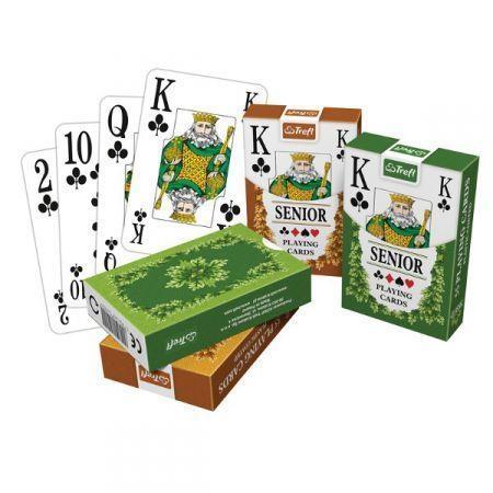 Classic Senior- karty standardowe 1x55 listków  (K14917)