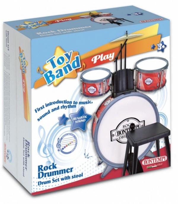 Zestaw perkusyjny ze stołkiem (041-514511)