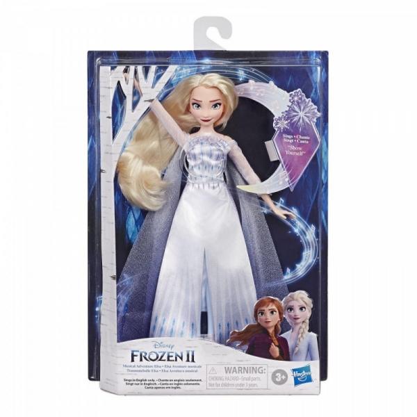 Lalka Frozen 2 Królewska śpiewająca Lalka Elsa (E8880)