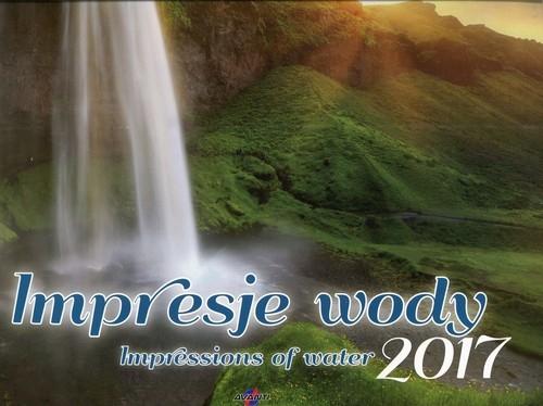 Kalendarz 2017 KD-10 duży Impresje wody
