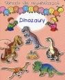 Obrazki dla najmłodszych Naklejanki Dinozaury