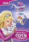 Koloruj, czytaj, naklejaj Barbie gwiezdna przygoda Jamrógiewicz Marta