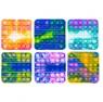 Norimpex, Pop it, kwadrat, mozaika, zabawka sensoryczna, antystresowa, gniotek Push Pop Bubble (NO-1005217)