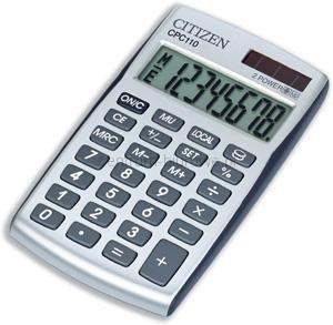 Kalkulatory na biurko Citizen CPC110WB Praca zbiorowa