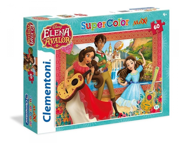 Puzzle SuperColor Maxi 60 Elena of Avalor