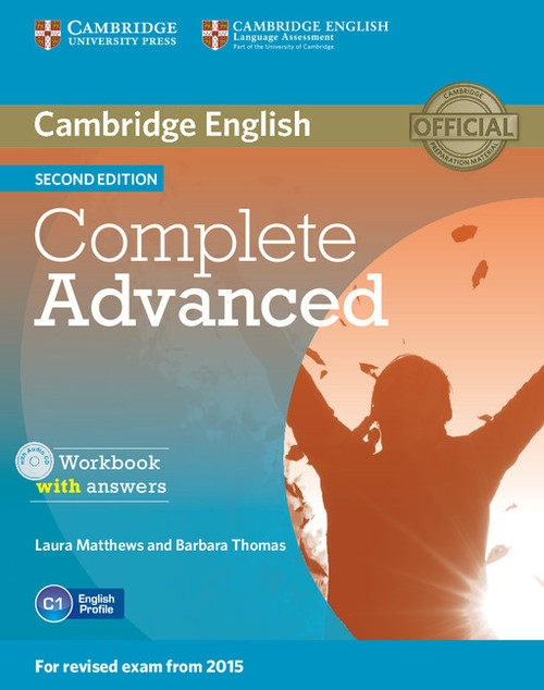 Complete Advanced Workbook with answers + CD Matthews Laura, Thomas Barbara