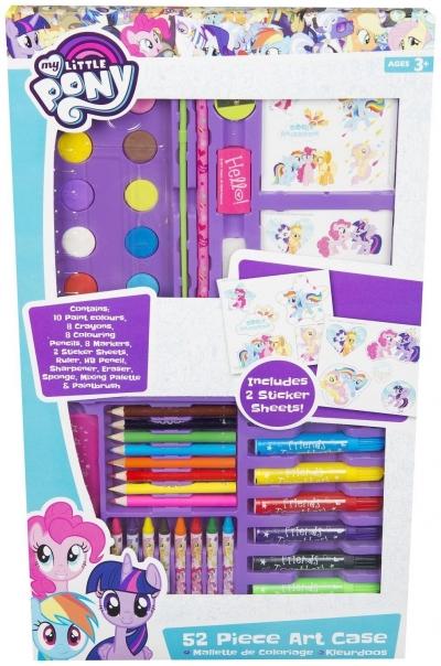Zestaw artystyczny My Little Pony 52 elementy