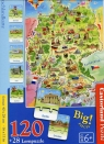 Puzzle 120 Deutschlandkarte (E-180)