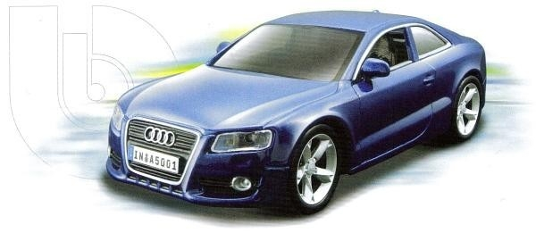 BBURAGO Audi A5 Kit