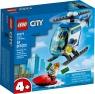 Lego City: Helikopter policyjny (60275) Wiek: 4+