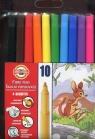 Flamastry zmywalne 10 kolorów (771002/AJ)