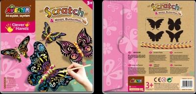 Wydrapywanka - 4 Magiczne Motyle