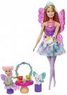 Barbie: Baśniowe Przedszkole - Podwieczorek z wróżką (GJK49/GJK50)