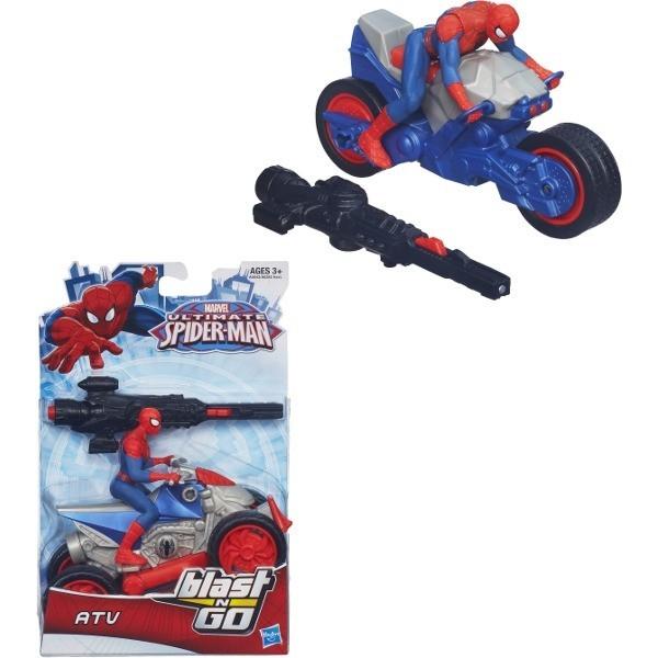 HASBRO Spiderman Ścigacze z wyrzutnią