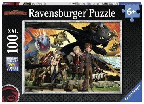 Puzzle 100: Dragons Przyjaciele