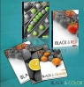 Zeszyt A5/60K/BR kratka 10 szt Black&Color