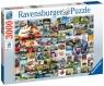 Ravensburger, Puzzle 3000: 99 momentów kampera VW (160181)