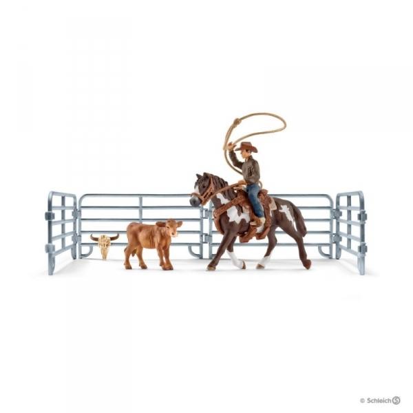 Kowboj łapiący na lasso - 41418