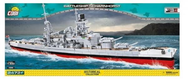 Klocki Battleship Scharnhorst (4818)