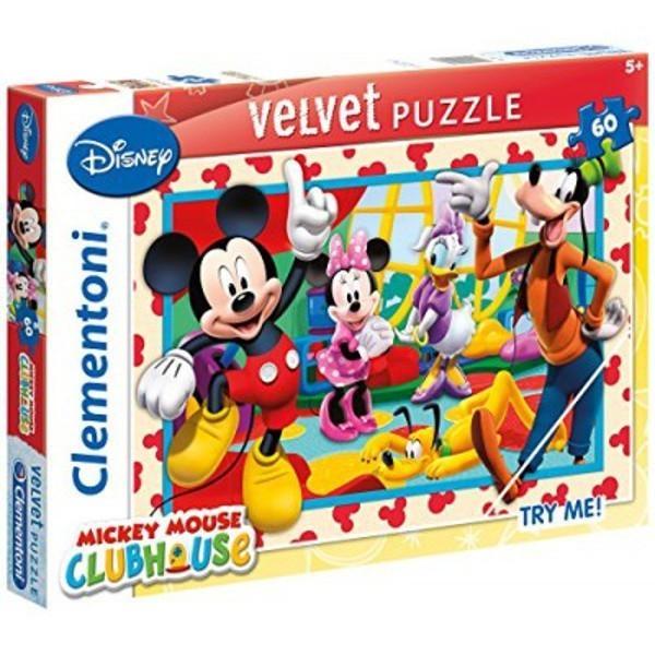 Puzzle 60 Velvet Klub przyjaciół Myszki Mickey (20118)