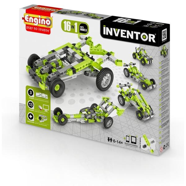 ENGINO Inventor 16 models cars (1631)