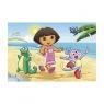 Dora na plaży