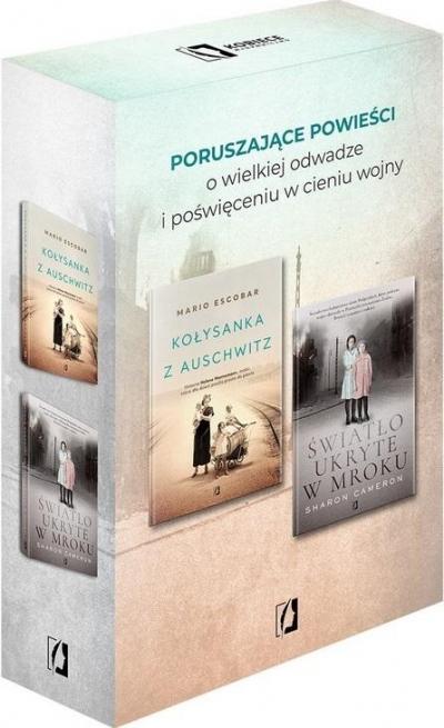 Pakiet: Kołysanka z Auschwitz/ Światło ukrytew.. Escobar Mario, Cameron Sharon