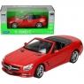 WELLY Mercedes Benz SL500 2012, czerwony (WE24041C)