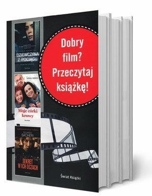 Pakiet Dobry film? Przeczytaj książkę! Kinga Dębska, Paula Hawkins, Eduardo Sacheri