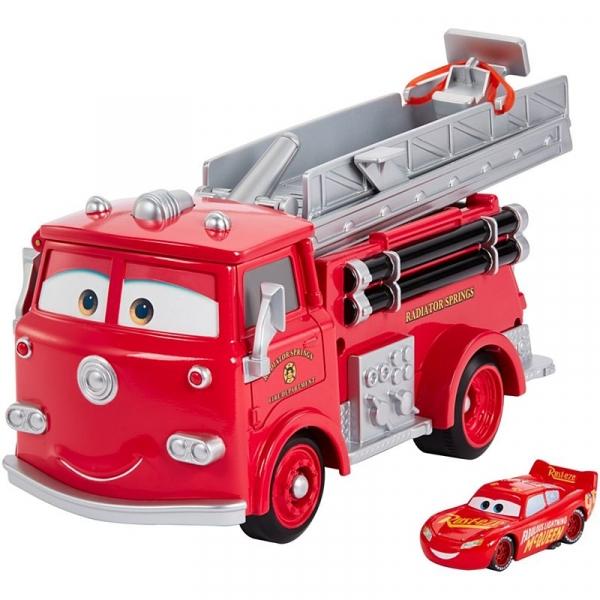 Auta - wóz strażacki Edek i Zygzak McQueen zmieniający kolor (GPH80)