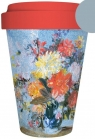 Kubek bambusowy A Vase of Lilies