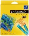 Pastele olejne Firster, 32 kolory (117244)