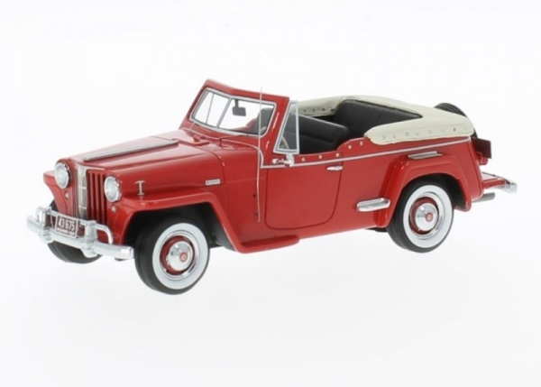 Willys Jeepster 1948 (red) (47065)