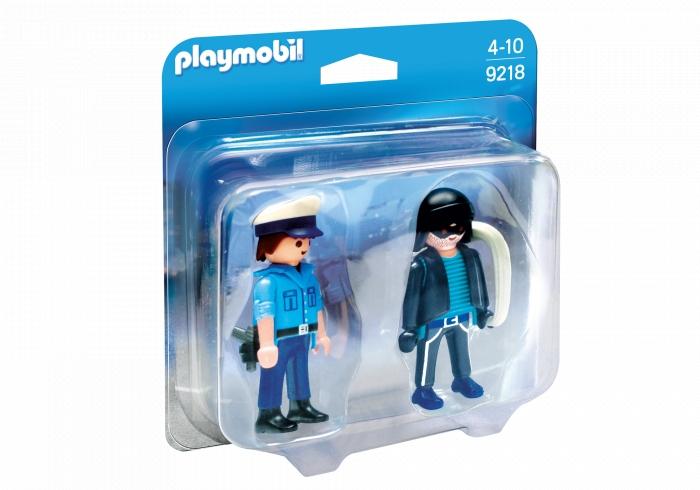 Playmobil City Action: Duo Pack - Policjant i złodziej (9218)