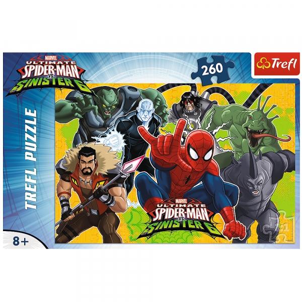 Puzzle 260: Spider-man w akcji (13218)