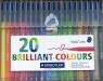Flamaster Triplus color 1 mm 20 kolorów