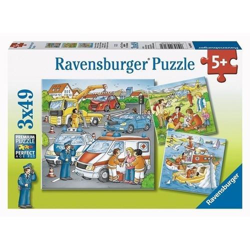 Puzzle Misja ratunkowa 3x49 (093182)