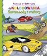 Pomoce dydaktyczne do kolorowania Samochody i motory