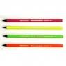 Ołówek Evolution Fluo - mix bez gumki op. 12szt.