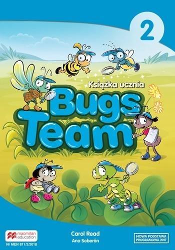 Bugs Team 2. Książka ucznia Carol Read, Ana Soberon