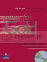 Going for Gold GL Upper-Inter Maximiser No Key +CD Pack Sally Burgess