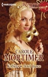 Kobieta w złotej masce Carole Mortimer