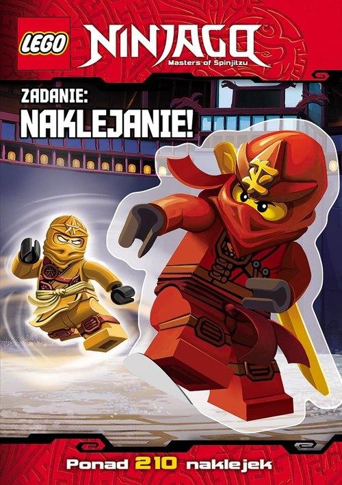 Lego Ninjago Zadanie naklejanie!