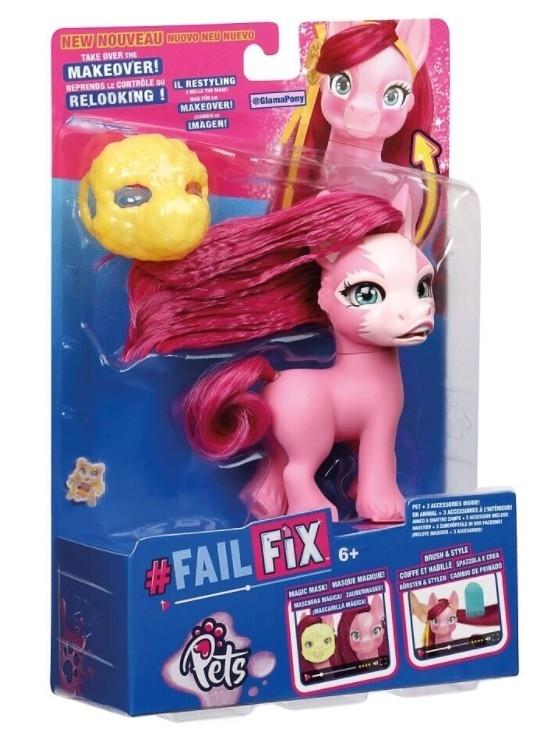 Figurka FAILFIX - Zwierzaki Metamorfoza Glamapony (MO-12815/MO-12818)