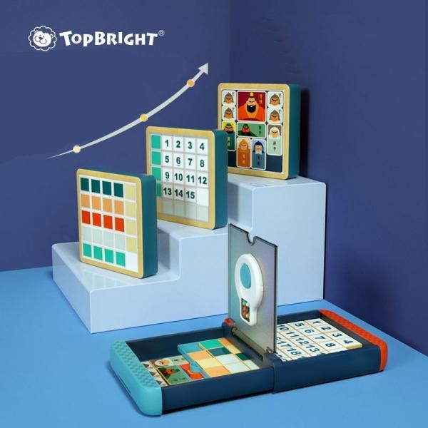 Zestaw gier logicznych 3w1 Top Bright (5133183)