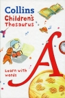Collins Children's Thesaurus Learn with words