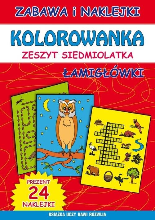 Kolorowanka zeszyt siedmiolatka Guzowska Beata, Bindek Marta