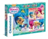 Puzzle 3 x 48 Superkolor Shimmer and shine